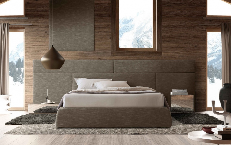 Bed Mod Boiserie Spazio Formus Furniture From Italy